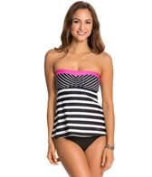 Beach House Breast Cancer Awareness Bandeau Tankini Top