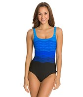 Reebok Fitness Sonic Wave U-Back One Piece
