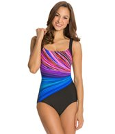 Reebok Fitness Fire and Water U-Back One Piece