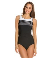 Reebok Fitness Racing Lanes U-Back One Piece