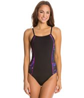 Speedo Fitness Galaxy Thin Strap One Piece