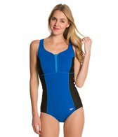 Speedo Fitness Racerback One Piece w/ Mesh