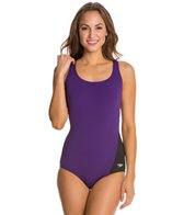 Speedo Fitness Side Wave Ultraback One Piece