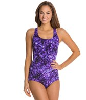 Speedo Fitness Print Ultraback One Piece