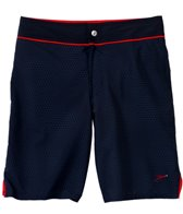 Speedo Men's Mini Hexagon Packable Boardshort