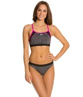 Speedo Fitness Space Dye Two Piece Set