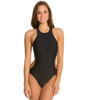 Speedo Active High Neck Cutout One Piece
