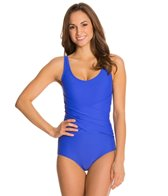 Speedo Front Criss Cross One Piece