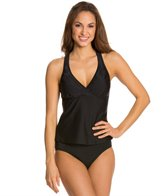 Speedo Active Crochet Mesh Tankini Top