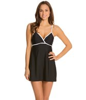 Speedo Wrap Front Swimdress