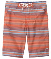 Speedo Men's Straight Away Stripe E-Board Short