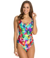 Seafolly Sonic Bloom Tank Maillot One Piece