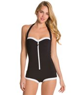 Seafolly Block Party Retro Maillot One Piece
