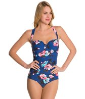 Seafolly Vintage Vacation D Cup Maillot One Piece