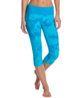 Balance Colletion Two-Tone Tie Dye Capri