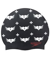 Speedo Valentine Royale Silicone Swim Cap