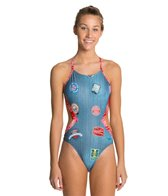Speedo Flipturns Patch It Up 1 Piece