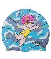 Speedo Synchro Sally Silicone Swim Cap