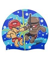 Speedo Fist Bump Silicone Swim Cap