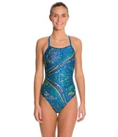 Speedo Pick Up Energy Back One Piece Swimsuit