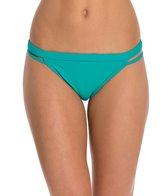 Sporti Solid Cheeky Bikini Bottom