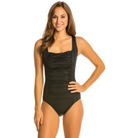Longitude Gold Rush Squareneck Tank One Piece