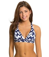 Jag Maldives Stripe Convertible Back Bra Top