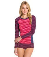 Sperry Top-Sider Women's Anchors Aweight L/S Rashguard