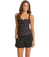Gabar Summer Shadow Dot Tankini Set
