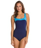 Gabar Coast Line Square Neck One Piece