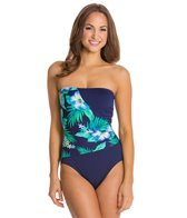 Gabar Canyon Flower Bandeau One Piece