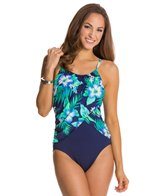 Gabar Canyon Flower High Neck One Piece