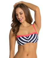 Beach House Ship Shape Stripe Underwire Bra Top