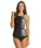 Beach House Myrtle Beach High Neck Tankini Top