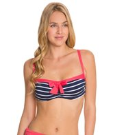 Beach House Skipper Stripe Underwire Bra Top