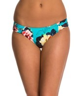 Seafolly Kabuki Bloom Ruched Side Bikini Bottom