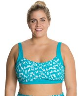 Beach House Plus Ocean Breeze Underwire Bra Top