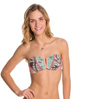 Maaji Cavalry Checker Bandeau Top