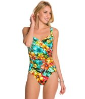 Penbrooke Hot Tropics Surplice Mio One Piece