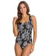 Penbrooke Queen's Lace Square Neck Mio One Piece