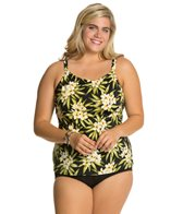 Penbrooke Plus Size Amalfi High Neck Underwire Top
