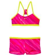 Nike Girls' Tonal Static Racerback Bikini Set (7-14)