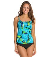 South Point Retro Tropics Mai Tai D/DD Cup Tankini Top