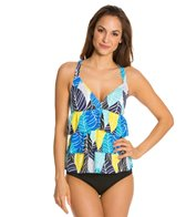 South Point Isla Vista Tiered Crossback Tankini Top