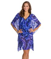 Miraclesuit Fan Dance Caftan Cover Up
