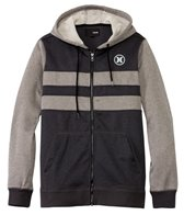 Hurley Men's Therma-Fit Block Party Zip Fleece Hoodie
