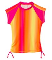 Seafolly Girls Girls' Sunrise S/S Rashie (6-16yrs)