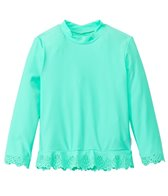 Seafolly Girls Girls' Go-Go Girl Flutter Bye Long Sleeve Rashie (Newborn-7yrs)