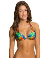 Luli Fama Mundo de Colores Triangle Bikini Top