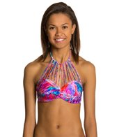Luli Fama Amancecer Eyes On Me Underwire Bandeau Bikini Top